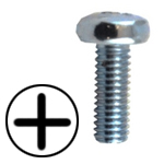 STAINLESS STEEL PHILLIPS PAN HEAD MACHINE SCREWS