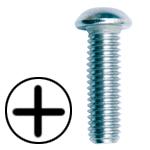 STAINLESS STEEL PHILLIPS ROUND HEAD MACHINE SCREWS