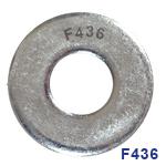 F436 FLAT WASHERS