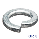 GRADE 8 SPLIT LOCK WASHERS